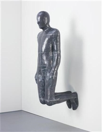 Artwork by Antony Gormley, Sick, Made of Lead, fibreglass, plaster, air