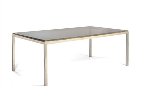 Willy Rizzo Table De Salle Manger 1970
