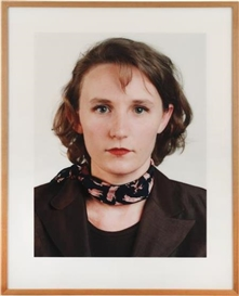 Artwork by Thomas Ruff, Portrait, Made of C-Print