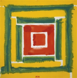 Howard Hodgkin, UNTITLED