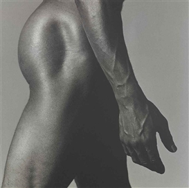 Artwork by Robert Mapplethorpe, Alastair Buttler, Made of silver gelatin print flush-mounted on card