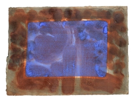 Howard Hodgkin, Blue Listening Ear (Heenk 73)