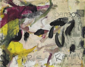 Artwork by Willem de Kooning, Poster for Paris Review, Made of offset lithograph in colors on wove paper