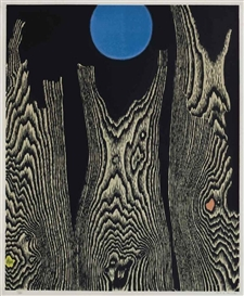 Artwork by Max Ernst, Forêt et Soleil, Made of offset lithograph in colors