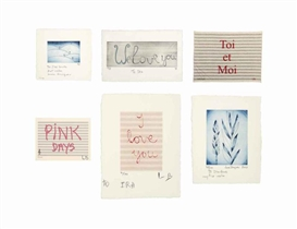 Louise Bourgeois, 6 works: Untitled