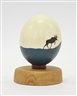 Charles Pachter, A PAINTED OSTRICH EGG