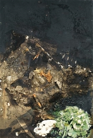 Artwork by Paul Rebeyrolle, La punition (Natures mortes et pouvoir), Made of Mixed media on canvas