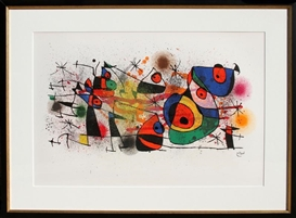 Artwork by Joan Miró, Ceramiques from Ceramiques de Miro et Artigas (M. 928), Made of Lithograph