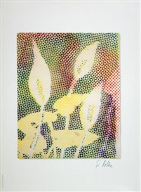 Artwork by Sigmar Polke, Calla, Made of Offset print on offsetpaper
