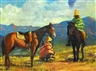 R. Campbell, Basotho Horsemen