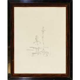 Artwork by Alberto Giacometti, The search, Made of etching
