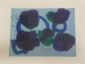 Artwork by Patrick Heron, 'The Brushstroke Series No 1 1999', Made of Etching