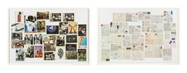 Artwork by Christian Marclay, Postcards, Made of lithographs (diptych)