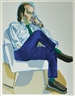 Alice Neel, 2 works: AVEDISIAN and HARTLEY