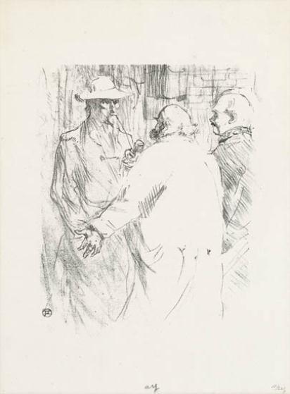 de Toulouse-Lautrec Henri | 2 Works: Ballade De Noël; Clemenceau à ...