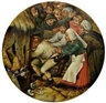 Pieter Brueghel the Younger, Thrown into the pig sty