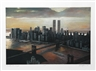 Richard Haas, Manhattan View, Twilight