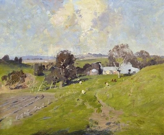 Hillside Farm By W.B. McInnes ,1919