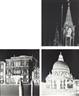 Vera Lutter, 3 works: Towers San Marco ;Ca del Duca Sforza, Venice;Corte Barozzi, Venice