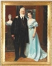 Peder Severin Krøyer, Double portrait of Dr. Phil. Brewer Carl Jacobsen and his youngest daughter Paula