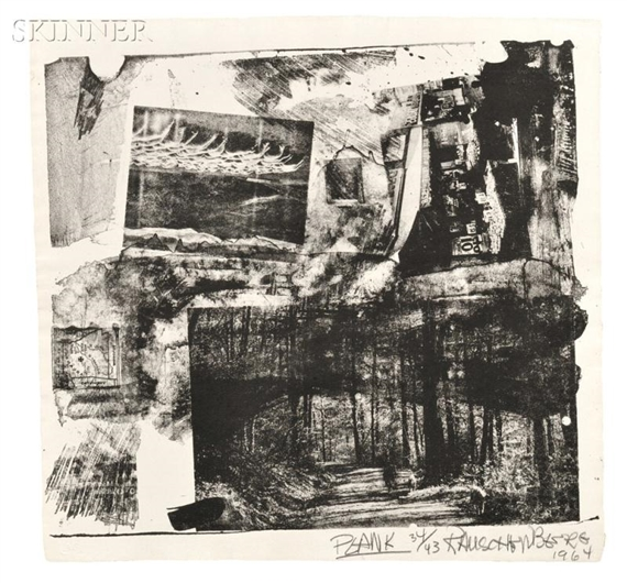 Rauschenberg Robert Twelve Works From Xxxiv Drawings For