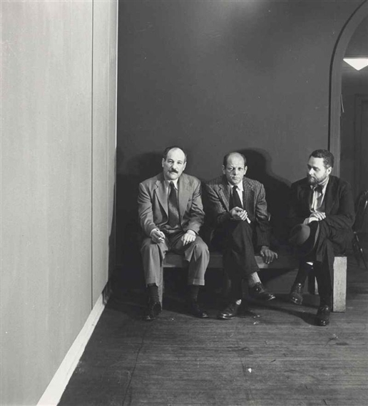 a discussion on jackson pollock mark rothko and barnett newman on the subject of art Chapter 15: abstract expressionism (jackson pollock and willem de (mark rothko and barnett newman) art historians also distinguish between the formative.