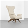 Vladimir Kagan, Wing lounge chair, model 503