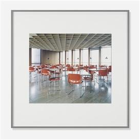 Artwork by Candida Höfer, Haus der Wirtschaft Köln, Made of C-print
