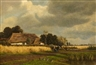 Thomas Kellner, LANDSCAPE WITH FARMHOUSE