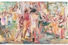 Major exhibition of recent paintings by Cecily Brown opens at Gagosian in Beverly Hills