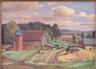 Julius Delbos, Bucolic Landscape