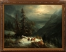 Ludwig Muninger, WINTER MOUNTAIN LANDSCAPE