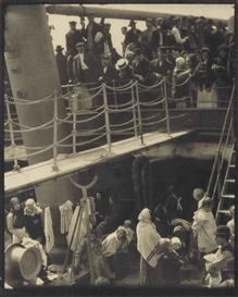 Artwork by Alfred Stieglitz, The Steerage, Made of photogravure