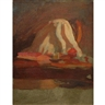 Thomas Anshutz, Untitled (Figure Study); Untitled (Plaster Cast with Drapery)