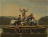 George Caleb Bingham, The jolly flat boat men