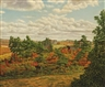 Levi Prentice, Farm Landscape in Autumn