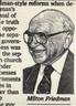 José María Cano de Andrés, Milton Friedman