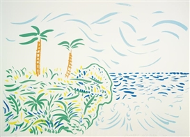 David Hockney, BORA BORA (T. 256: DH43; M. C. A. T. 213)