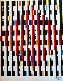 Artwork by Yaacov Agam, Agamograph, Made of Lithograph