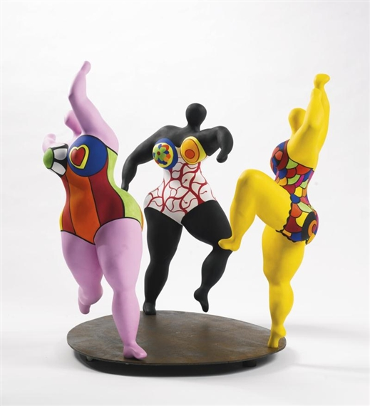 niki de saint phalle les trois graces 1994. Black Bedroom Furniture Sets. Home Design Ideas