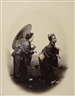 Felice A. Beato, Pair of Works: Kendō-Fechter; Kendō-Fencers & Geishas, Japan