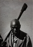 George Rodger, The Royal Executioner of the Bunyoro tribe with his symbolic axe, Uganda