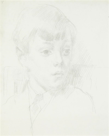 Henry Lamb, Head of a young boy