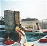 Slim Aarons, Penthouse Pool 1961