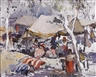 Millard Sheets, The gypsy camp