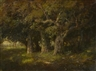 William Keith, Study of oaks