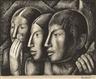 Alfredo Ramos Martínez, Untitled (Indios con el ídolo)