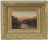 Frederic Edwin Church, View of Lake Lucerne