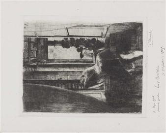 Luigi bartolini ragazza alla finestra 1929 for Ragazza alla finestra quadro