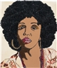 Mickalene Thomas, SIX FOOTA (portrait series)